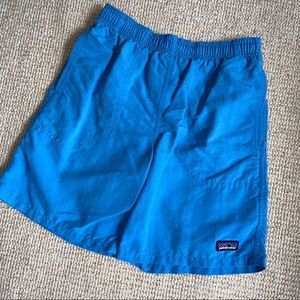 Patagonia Swim Trunks Blue Boys Size Medium